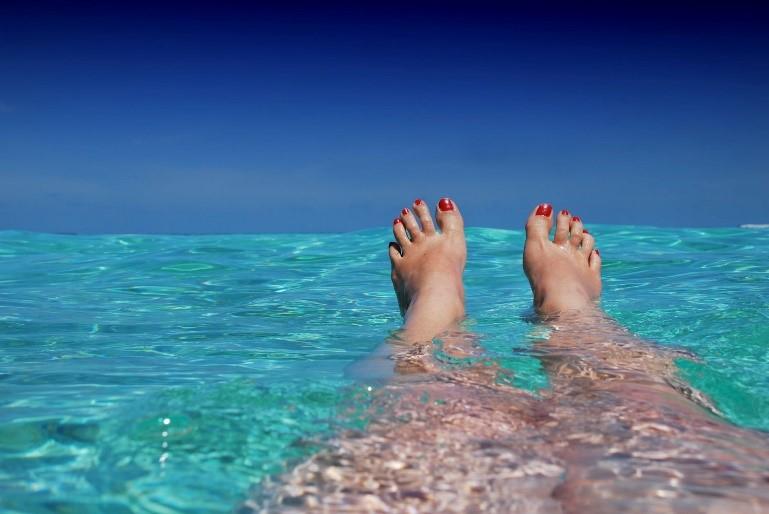 Plavání v moři