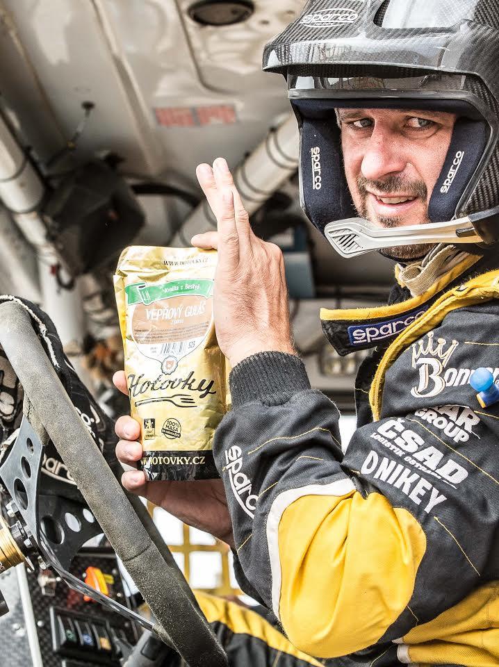 Hotovky na Rally Dakar